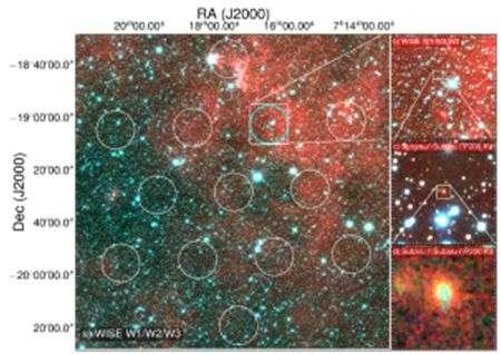 快速射電暴宿主星系位置