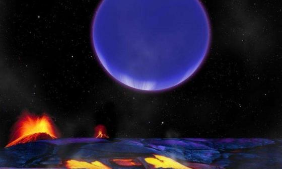 畫家筆下的克卜勒-36c系外行星