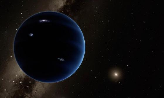 畫家筆下太陽系第九顆行星
