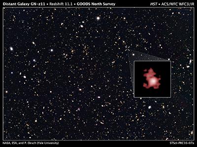 位於大熊座的GN-z11 星系