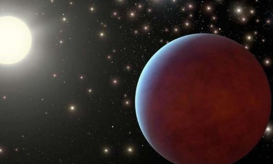畫家筆下的巨大系外行星