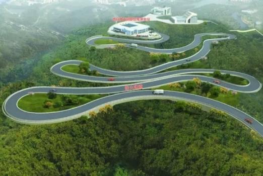 畫家筆下的天琴計劃基礎設施工程建設項目