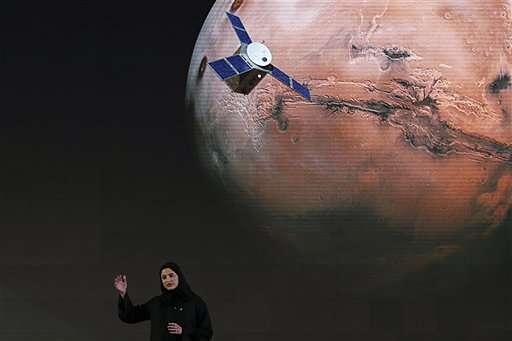 阿聯酋火星探測計劃副經理介紹希望號的工作