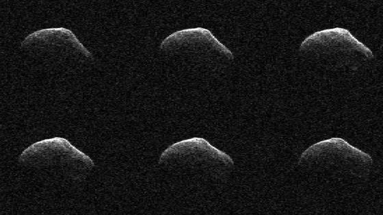 P/2016 BA14泛星彗星雷達影像