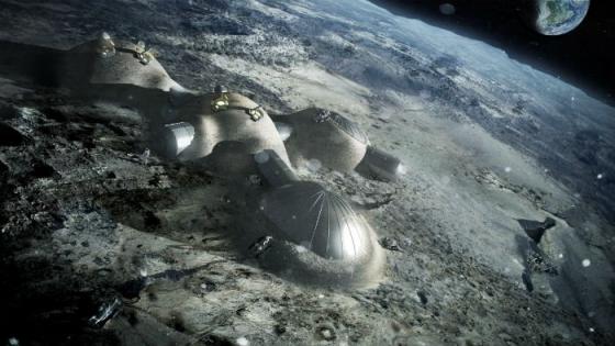 福斯特建築事務所構思的月球基地