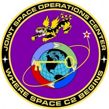美軍聯合太空作戰中心標誌