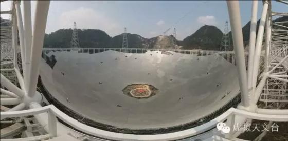 五百米口徑球面射電望遠鏡全景