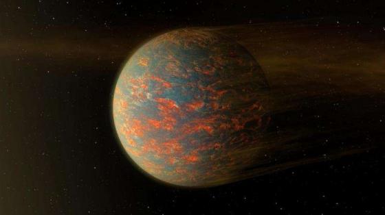 畫家筆下的軒轅增十九e 系外行星