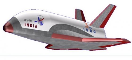 畫家筆下的印度太空穿梭機