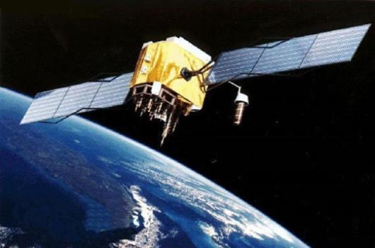 畫家筆下的量子科學實驗衛星