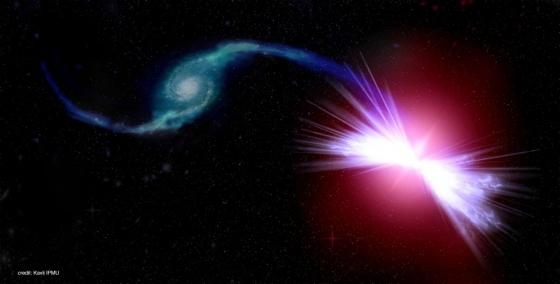 畫家筆下超級黑洞將星系氣體加熱