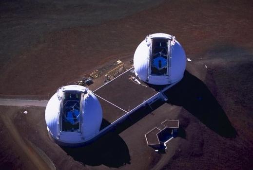 凱克望遠鏡是世界上口徑第二大的近紅外線望遠鏡