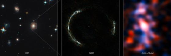 SDP.81愛因斯坦環和重力透鏡星系