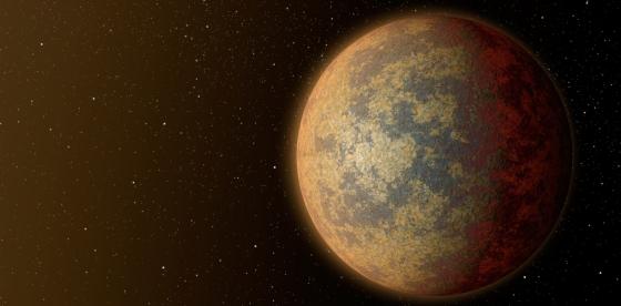 畫家筆下的岩石系外行星