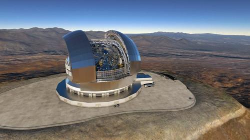 畫家筆下的全球最大光學望遠鏡
