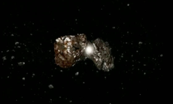 模擬小行星撞擊過程