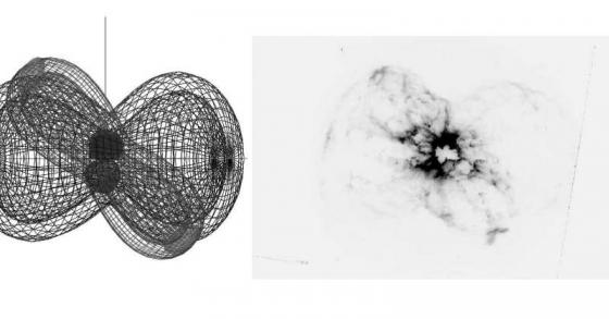 NGC2440網格模型