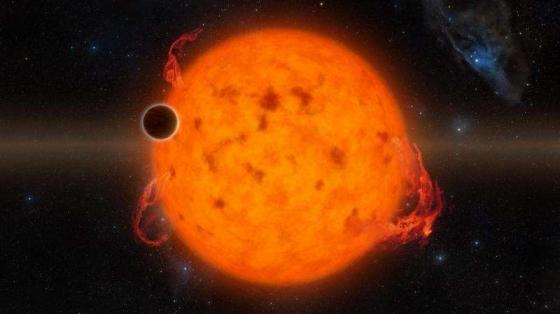 畫家筆下的K2-33b系外行星