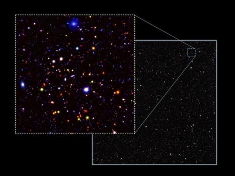 圖像中的物體是非常遙遠的星系