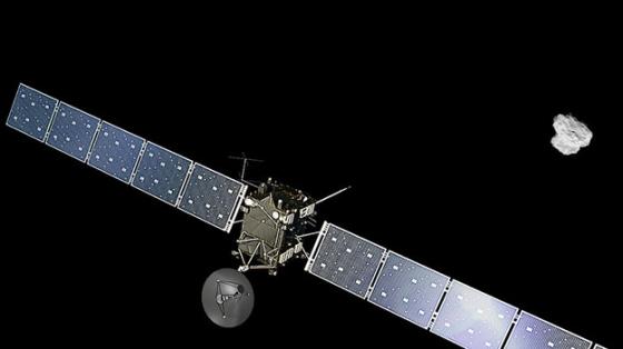 羅塞塔號太空船與楚留莫夫·格拉希門克彗星