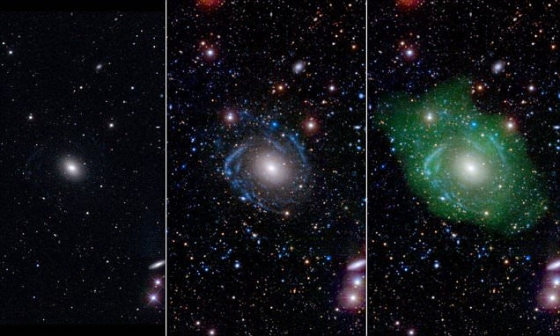 UGC1382是一個與其它星系合併形成的巨型星系