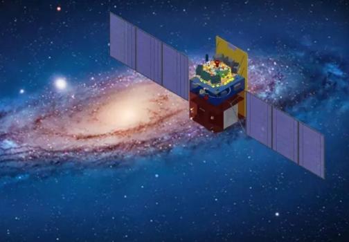 畫家筆下的中國硬X射線天文望遠鏡