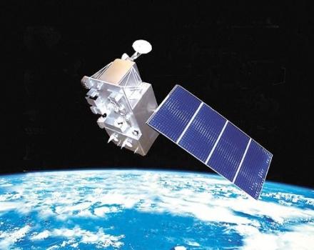 畫家筆下的風雲四號衛星