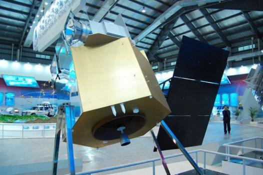 風雲四號氣象衛星展覽模型