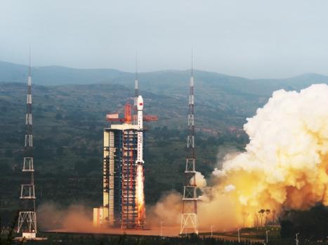 高分三號衛星發射情況