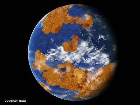 遠古時期金星表面可能有一片淺海