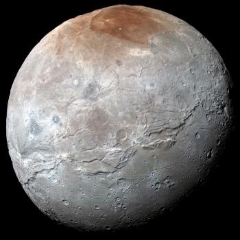 新視野號拍攝冥衛一的照片