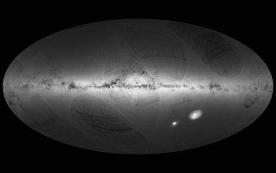 根據蓋亞觀測數據繪製的高分辨率宇宙圖景