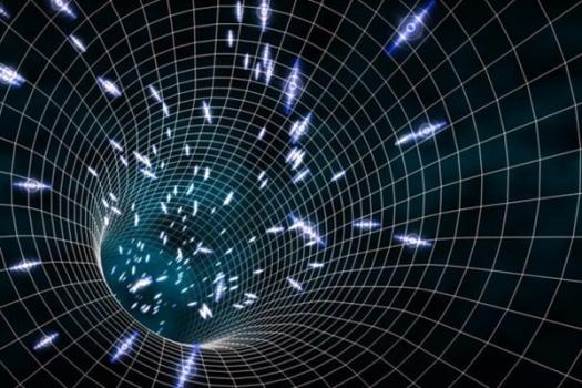 畫家構思的時空晶體