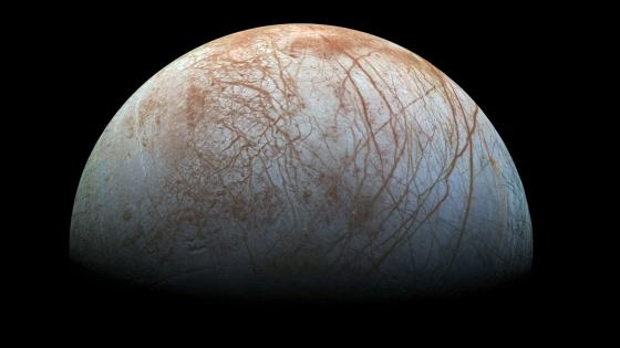 木衛二的奇特表面特徵