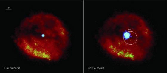超新星殘骸RCW 103中心的中子星