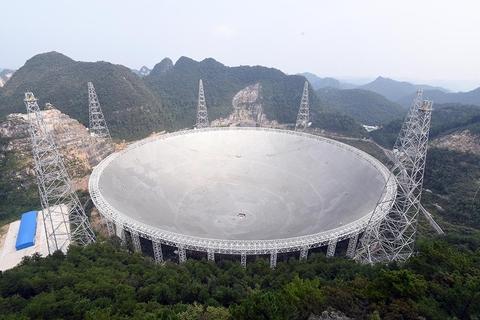貴州省平塘縣500米口徑射電望遠鏡