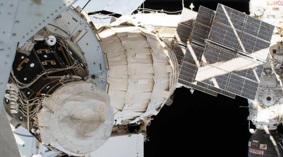 畢格羅可充氣活動模塊接駁國際太空站