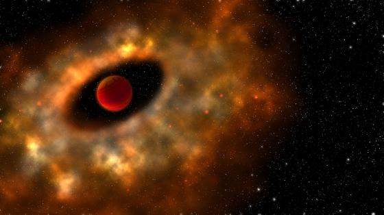畫家構思的低質量天體行星系統演化過程