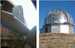 一米望遠鏡及圓頂室