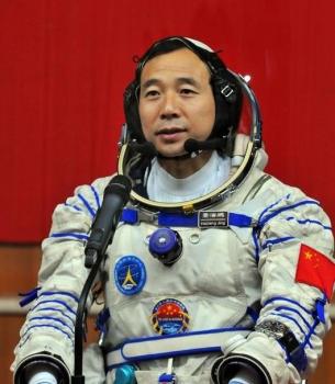 景海鵬擔任神舟十一號載人太空船指令長