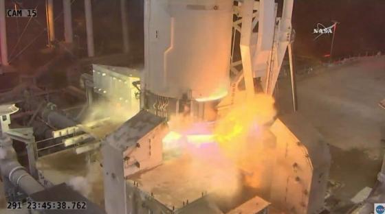 天鵝座貨運太空船發射情況