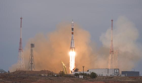 聯盟號MS-02太空船發射情況