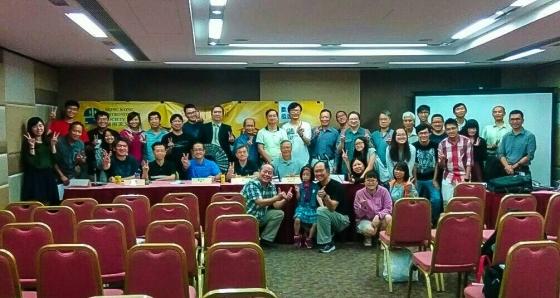 香港天文學會會員大會合照