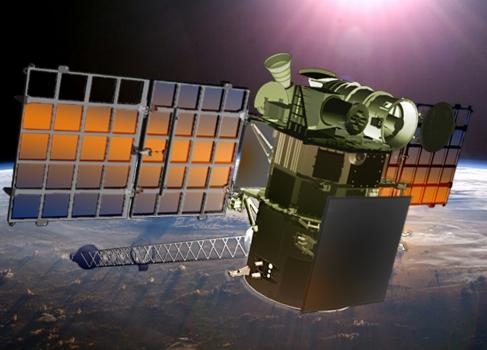 畫家筆下的深空氣候觀測衛星