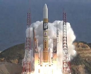 向日葵九號氣象衛星發射情況