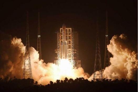 長征五號運載火箭發射情況