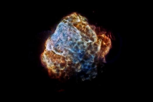 超新星閃閃發光的遺骸