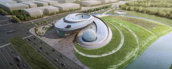 上海天文館設計模型