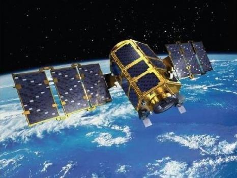 畫家筆下的脈衝星試驗衛星