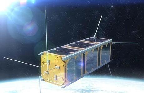 畫家筆下的麗水一號遙感微小衛星